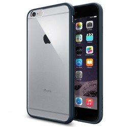 "Чехол-накладка для Apple iPhone 6 Plus, 6s Plus 5.5"" (Spigen Ultra Hybrid SGP10897) (металлический)"