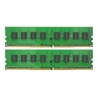 kingmax ddr4 2400 dimm 32gb kit (2*16gb)