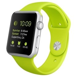 Apple Watch Sport 38mm with Sport Band (зеленый) :