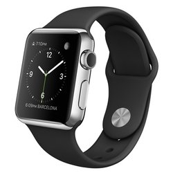 Apple Watch 38mm with Sport Band (черный) :