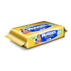 Детские влажные салфетки (HUGGIES EXTRA GENTLE 2398570) (64шт)