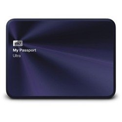 western digital my passport ultra 1tb (wdbw5l0010bba-eeue) (черный/синий)
