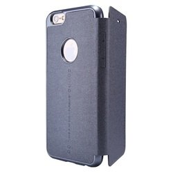 чехол-книжка для apple iphone 6 4.7 nillkin sparkle leather case (t-n-iphone6-009) (черный)