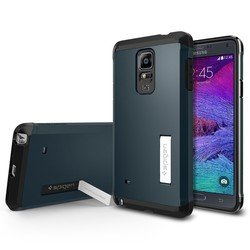 �����-�������� ��� samsung galaxy note 4 spigen tough armor series (sgp11140) (�������������) + ������������� ������!