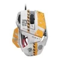 mad catz titanfall r.a.t. 3 gaming mouse for pc grey usb