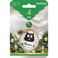 usb-флэш накопитель smartbuy sheep 4gb (sb4gbsheep)