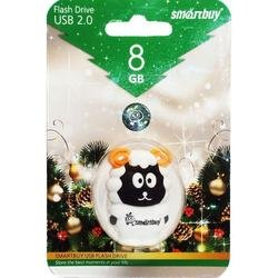 usb-флэш накопитель smartbuy sheep 8gb (sb8gbsheep)