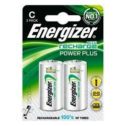 Аккумуляторная батарея R14 (Energizer 635674) (2500mAh, 2 шт)
