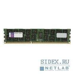 модуль памяти kingston ddr3 8gb (pc3-12800) 1600mhz [kth-pl316s, 8g]