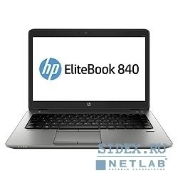 "ноутбук hp elitebook 840 g1 j7z18aw 14""(1600x900 (матовый)), intel core i5 4310u(2ghz), 4096mb, 500+32ssdgb, nodvd, ext:amd radeon hd8750m(1024mb), cam, bt, wifi, war 3y, 1.58kg, silver, black metal, w7pro + w8pro key"