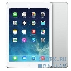 Apple iPad Air 16Gb Wi-Fi Silver (MD788RU/B) (белый) :::