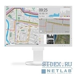 "монитор nec 24"" еа244uhd 4k monitor, silv, white(ips, 350cd, m, 1000:1, 5ms, 3840x2160, 178, 178 hight adj.:110, swivel;tilt;dvi-d, displ.port;hdmi;internal ps;tco6)"