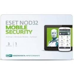 Eset NOD32 Mobile Security 3 ПК 1 год (NOD32-ENM2-NS(CARD)-1-1)