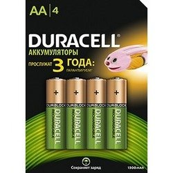 Аккумуляторы AA (Duracell HR6 81472338) (4 шт.)