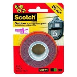 Клейкая лента 3M 7100010521 Scotch монтажная для наружных работ2,5х444cm 411MED-RU