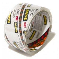 Клейкая лента 3M N2J Scotch упаковочная, кристально-прозрачная, Эконом 48мм х 35м 40мкм