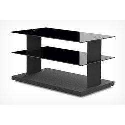 Тумба для TV (Holder TV-2580) (черный + черное стекло)