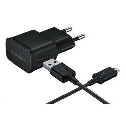 Сетевое зарядное устройство MicroUSB, 2A (Samsung EP-TA12EBEQGRU) (черный)