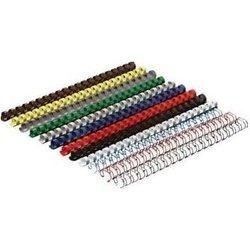Пластиковые пружины для переплета 10 мм на 65 листов (GBC 4028235) (синий) (100 шт.)