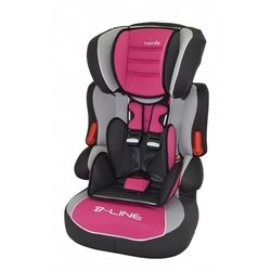 Автокресло детское от 9 до 36 кг (Nania Beline SP Luxe agora framboise) (розовый)