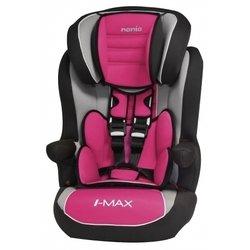 Автокресло детское от 9 до 36 кг (Nania Imax SP LUXE Agora framboise) (розовый)