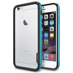 "Чехол-бампер для Apple iPhone 6, 6s 4.7"" (Spigen Neo Hybrid EX Metal Series SGP11188) (голубой)"
