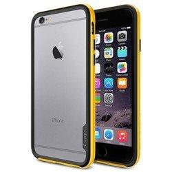 Чехол-бампер для Apple iPhone 6, 6s 4.7 (Spigen Neo Hybrid EX Series SGP11027) (желтый)