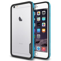 "Чехол-бампер для Apple iPhone 6 Plus, 6s Plus 5.5"" (Spigen Neo Hybrid EX Metal Series SGP11193) (голубой)"
