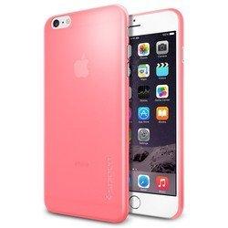 "Чехол-накладка для Apple iPhone 6 plus, 6s Plus 5.5"" (Spigen Case Air Skin SGP11160) (розовый)"