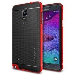 Чехол-накладка для Samsung Galaxy Note 4 Spigen Neo Hybrid (SGP11122) (красный)