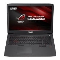 "asus rog g751jt (core i7 4710hq 2500 mhz/17.3""/1920x1080/8.0gb/1000gb/dvd-rw/nvidia geforce gtx 970m/wi-fi/bluetooth/��� ��)"