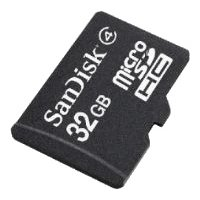 sandisk microsdhc card class 4 32gb + sd adapter