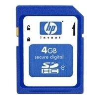 HP SDHC Class 4 4Gb