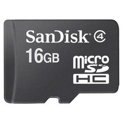 Sandisk microSDHC Card 16GB Class 4 (SDSDQM-016G-B35)