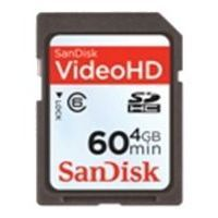 sandisk video hd sdhc class 6 4gb