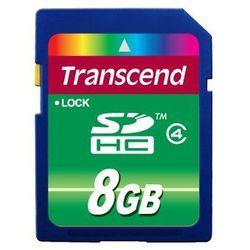 Transcend SDHC класс 4, 8ГБ (TS8GSDHC4)