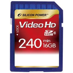 silicon power sdhc class 6 video hd 16gb
