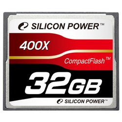 ��������� silicon power 400x professional compact flash card 32gb
