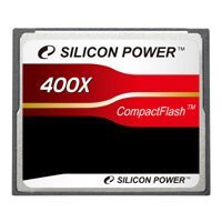 silicon power 400x professional compact flash card 8gb (sp008gbcfc400v10)