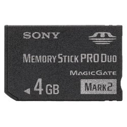 sony ms pro duo 4gb mark 2 ��� �������� (msmt4gn)