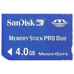 Sandisk Memory Stick PRO Duo 4Gb (SDMSPD-004G-B35)