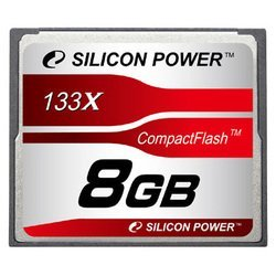 silicon power 133x professional compact flash card 8gb