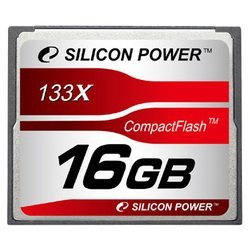 silicon power 133x professional compact flash card 16gb