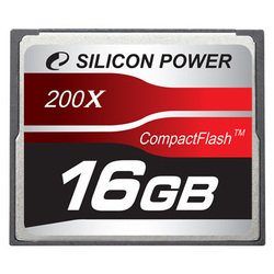 silicon power 200x professional compact flash card 16gb