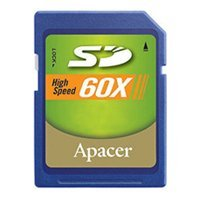 apacer secure digital card 2gb 60x