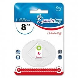 smartbuy key 8gb (белый)