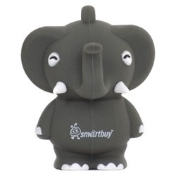 SmartBuy Wild Series Elephant 16GB (серый)