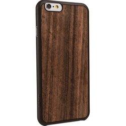 "Чехол-накладка для Apple Iphone 6, 6s 4.7"" (Ozaki OC556EB Ocoat 0.3+ Wood) (темно-коричневый)"