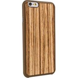"Чехол-накладка для Apple Iphone 6, 6s 4.7"" (Ozaki OC556ZB Ocoat 0.3+ Wood) (бежево-коричневый)"