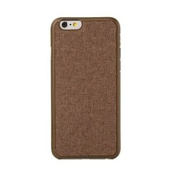 "Чехол-накладка для Apple Iphone 6, 6s 4.7"" (Ozaki OC557BR Ocoat 0.3+ Canvas) (коричневый)"